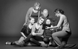 Wimmenauer Behind the Scenes Family Portrait
