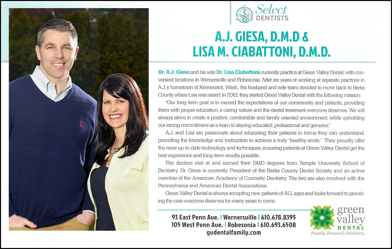 A.J. Giesa D.M.D. & Lisa M. Ciabattoni, D.M.D.