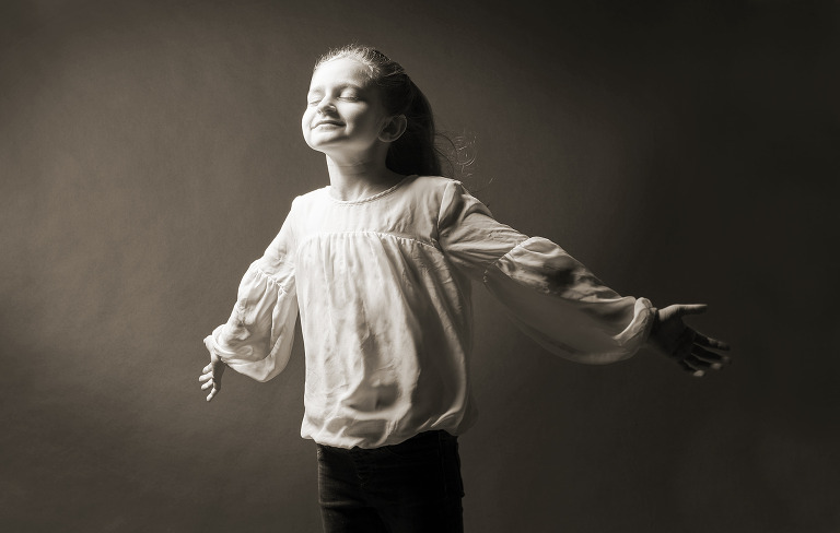 Gill child portrait