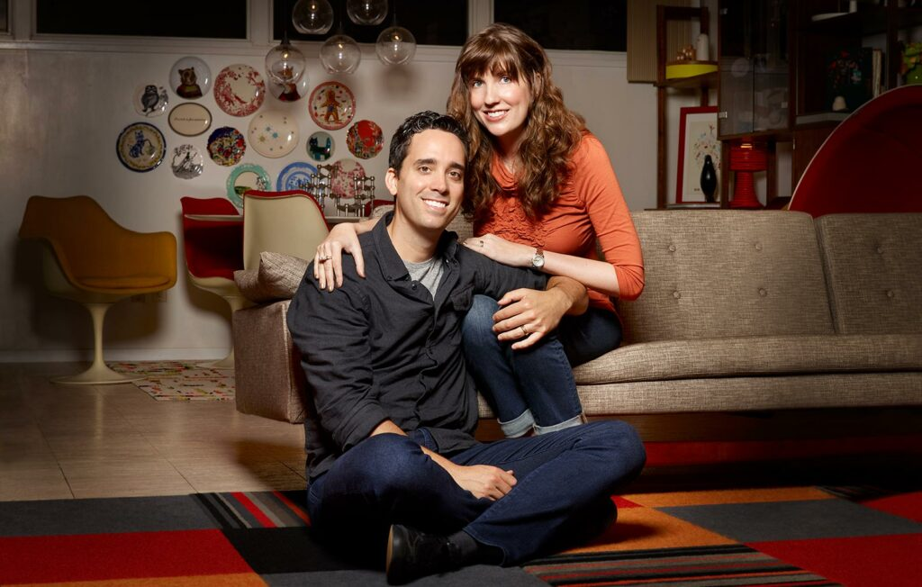 couple on couch - Willow Street Pictures