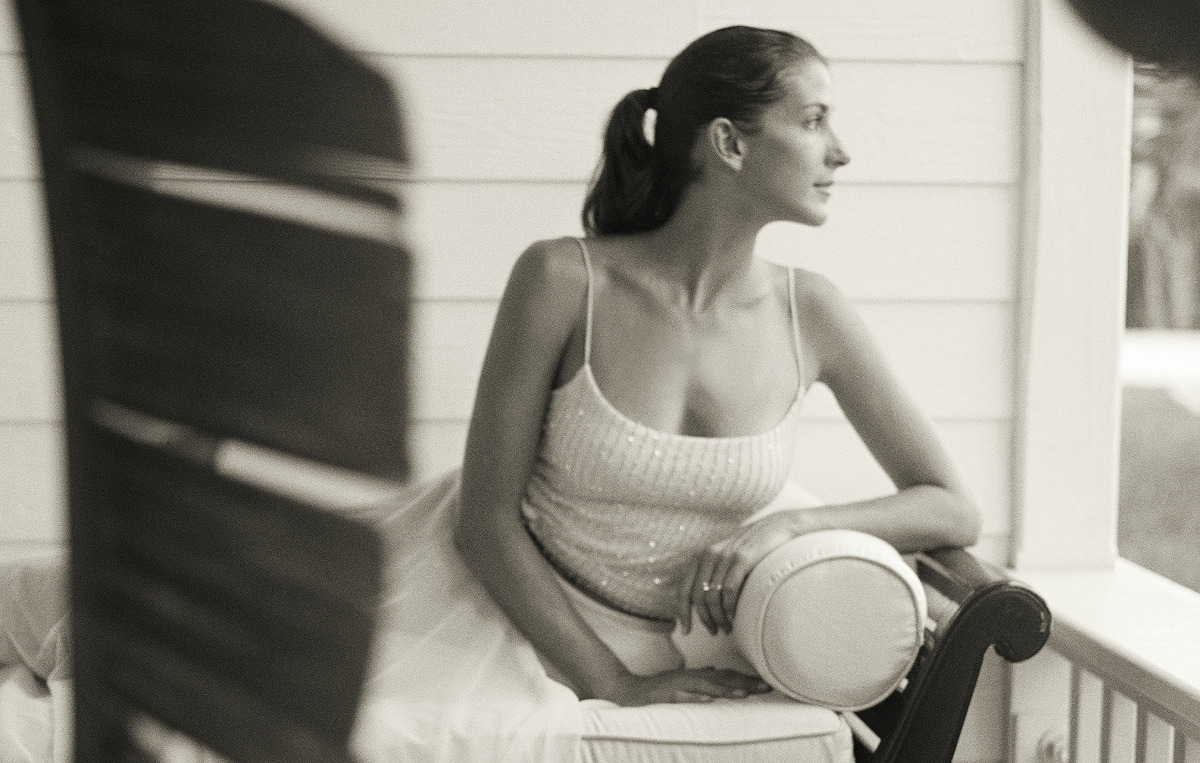 woman on front porch - Willow Street Pictures