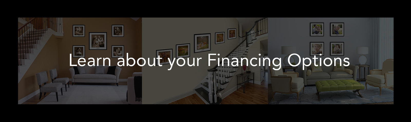 Financing Options banner - Willow Street Pictures
